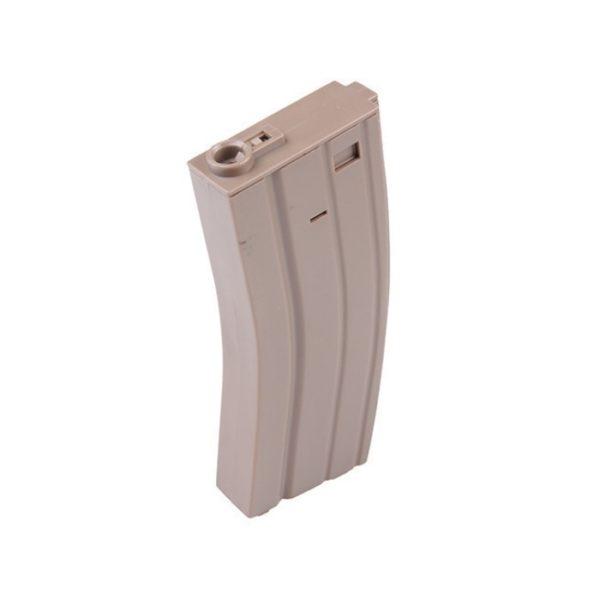 CARGADOR M4 100BB TAN PLÁSTICO- SPECNA ARMS