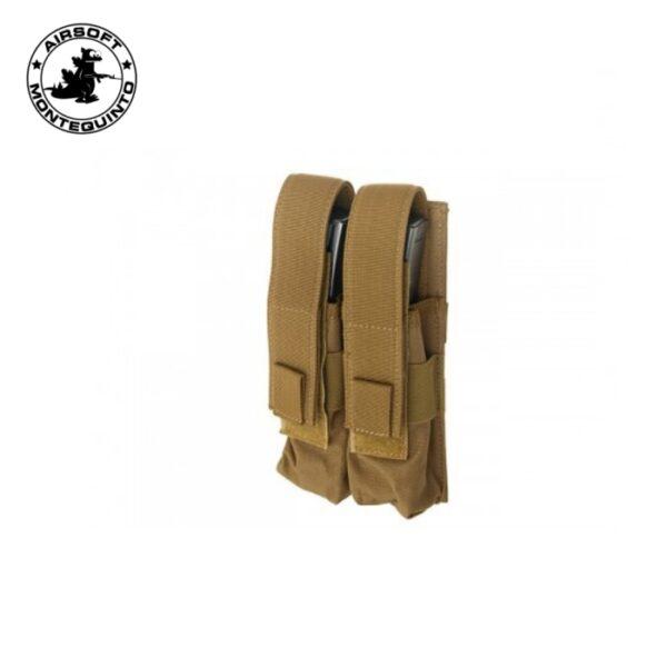 PORTACARGADOR DOBLE MP5 TAN (ACM)