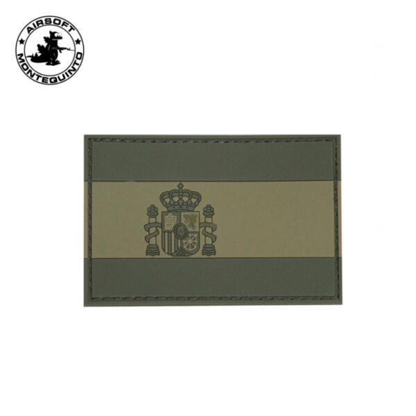 PARCHE PVC BANDERA ESPAÑA VERDE - ACM