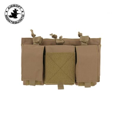 VPORTA CARGADOR TRIPLE 7.62 TAN - ACM
