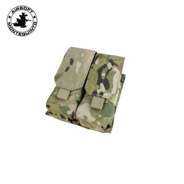 PORTACARGADOR DOBLE G36 / AK TIPO 2 MULTICAM - ACM