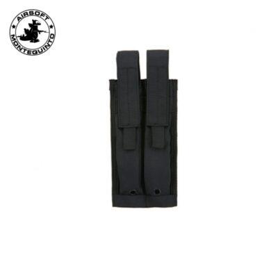 PORTACARGADOR DOBLE P90 / MP7 / UMP NEGRO - ACM