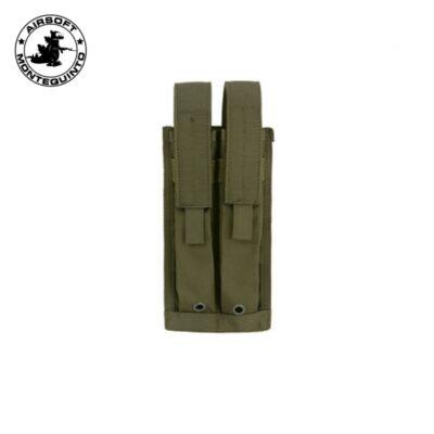PORTACARGADOR DOBLE P90 / MP7 / UMP VERDE - ACM