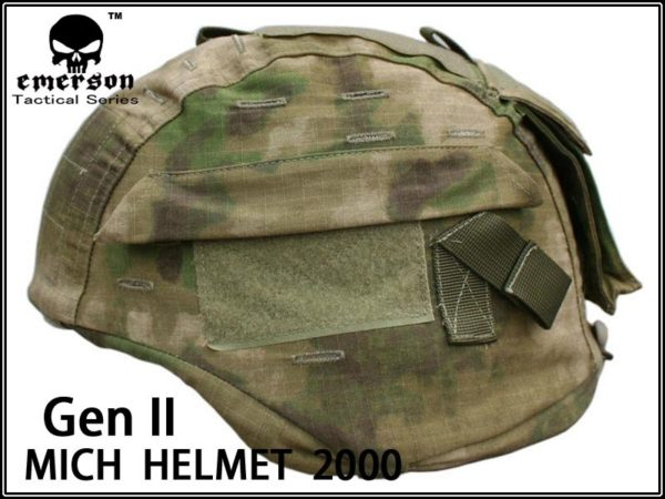 FUNDA CASCO ATACS FOLIAGE GREEN (EMERSON)