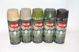 SPRAY PINTURA MATE KAKHI (KRYLON)