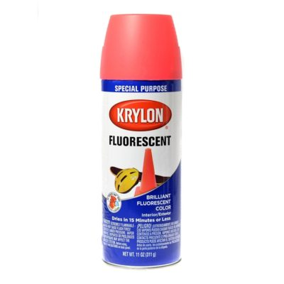 SPRAY NARANJA FLUORESCENTE (KRYLON)