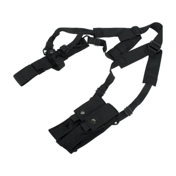 FUNDA SOBAQUERA MP5K NEGRA- MIL FORCE