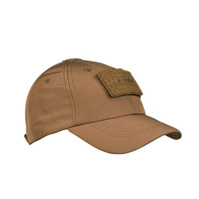 GORRA BASEBALL SOFT SHELL TAN (MILTEC)