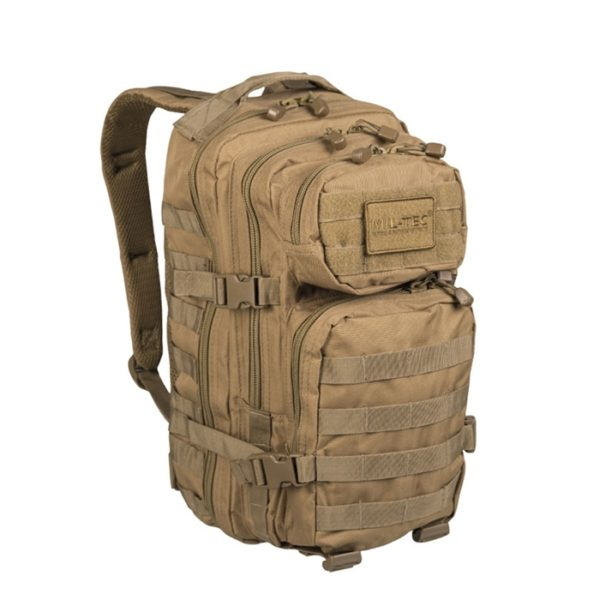 MOCHILA US ASSAULT TAN - MILTEC 20L