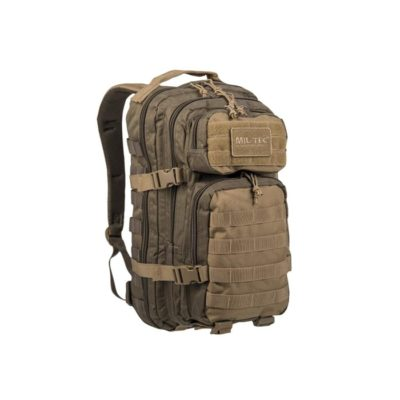 MOCHILA 20L US ASSAULT TAN-VERDE (MILTEC)