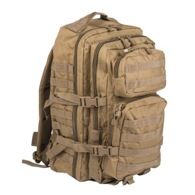 MOCHILA US ASSAULT 36L TAN MILTEC