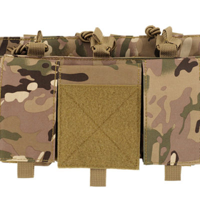 PORTACARGADOR TRIPLE 7.62 MULTICAM ACM