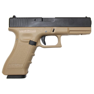 GLOCK 17 FULL METAL CO2 TAN (KJW)