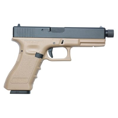 GLOCK 17 TBC FULL METAL CO2 TAN (KJW)