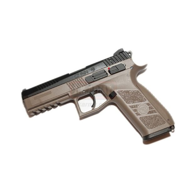 CZ P-09 FULL METAL CO2 TAN - KJW