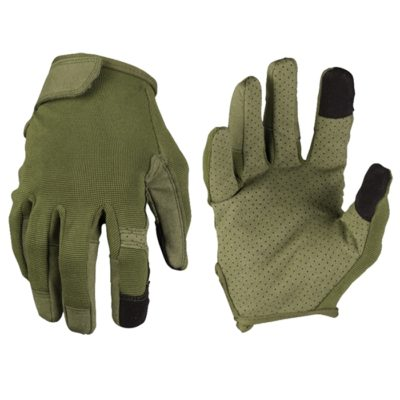 GUANTES TOUCH VERDE TALLA M (MILTEC)
