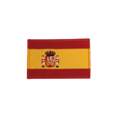 PARCHE BORDADO BANDERA ESPAÑA COLOR (ACM)
