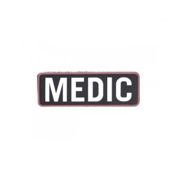 PARCHE PVC MEDIC NEGRO - ACM