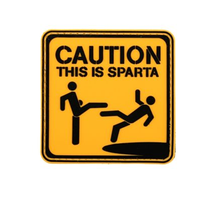 PARCHE PVC THIS IS SPARTA (ACM)