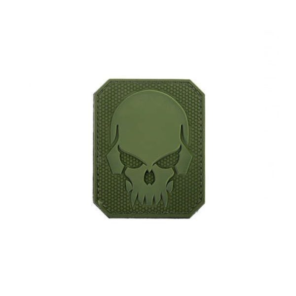 PARCHE PIRATE SKULL VERDE - ACM