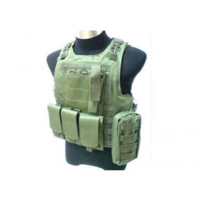 CHALECO TÁCTICO FSBE TIPO 1 VERDE - ACM