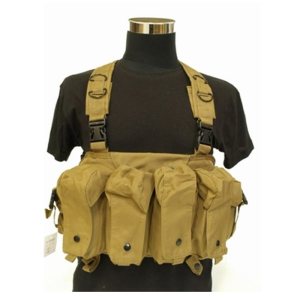 CHEST RIG DELUXE TAN (ACM)