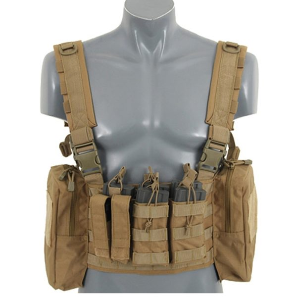 CHEST RIG PATRULLA TAN (ACM)