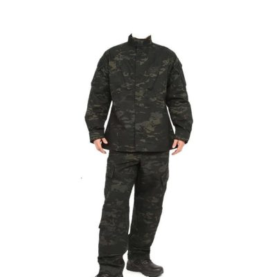 UNIFORME MULTICAM BLACK TALLA M (ACM)