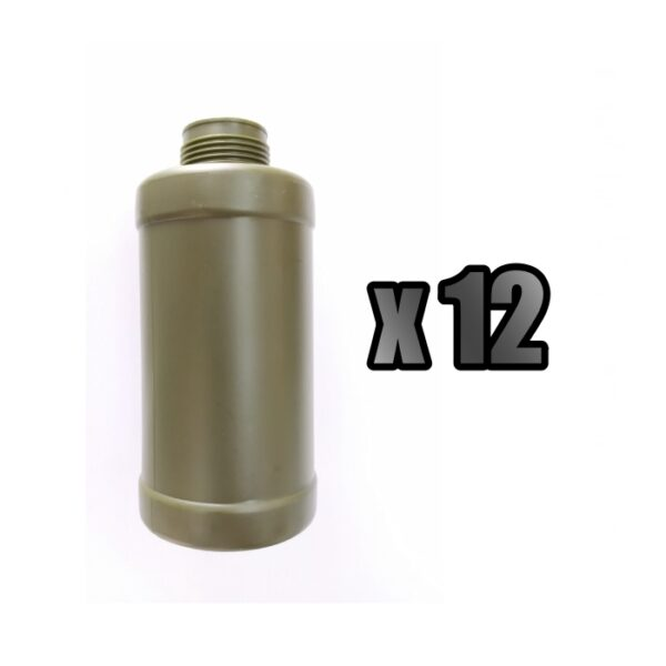 12 CARCASAS GRANADA THUNDER B VERDE - ACM