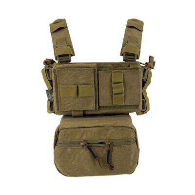 MINI CHEST RIG TAN - CONQUER
