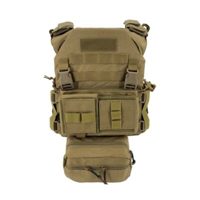 CHALECO MPC FULL SET TAN - CONQUER