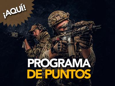 Programa de Puntos de Airsoft Montequinto