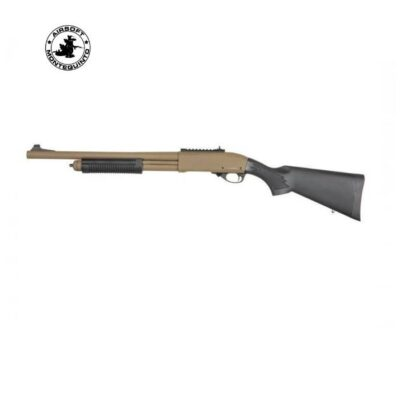 ESCOPETA M870 FULL METAL DE MUELLE TAN - GOLDEN EAGLE