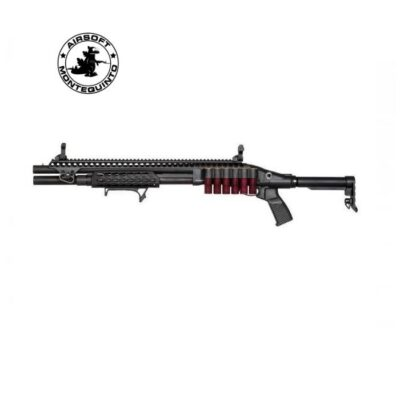 ESCOPETA M870 MK3 FULL METAL DE MUELLE NEGRA - GOLDEN EAGLE