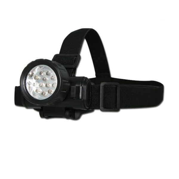 LINTERNA CASCO 12 LED - MILTEC