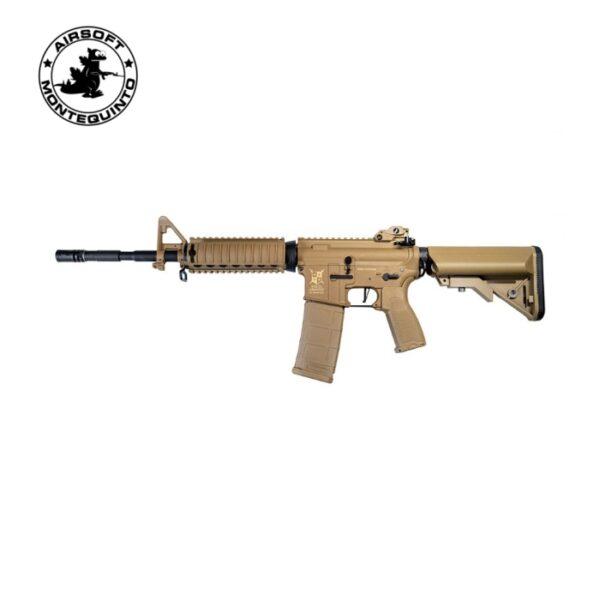 M4 A1 DA-C03 AR15 RIS CHARLIE AEG TAN - DELTA ARMORY
