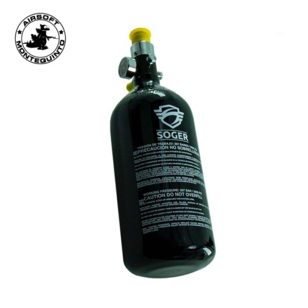 TANQUE HPA 3000PSI 0.8L - SOGER