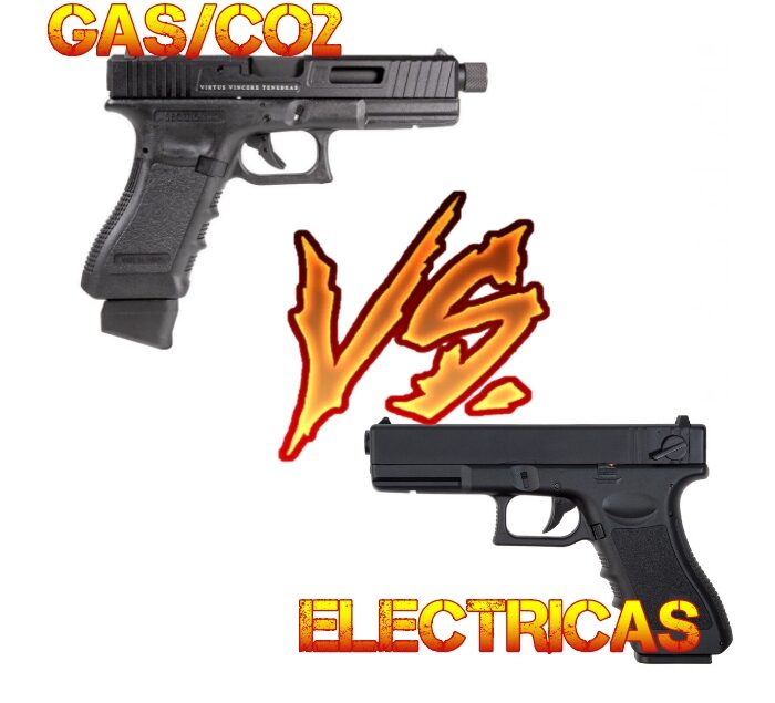 AIRSOFT MONTEQUINTO GAS VS ELECTRICAS