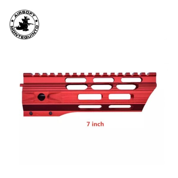 "GUARDAMANOS M4 MLOK ROJO 7"" - ACM"